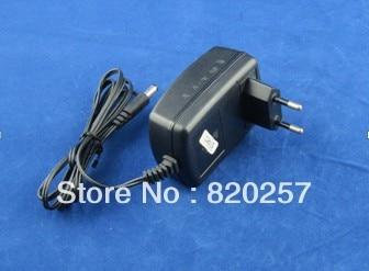 Envío Gratis 5 unids/lote DC12V 2A 24 W AC100-240V entrada led adaptador de fuente de alimentación con enchufe de la UE