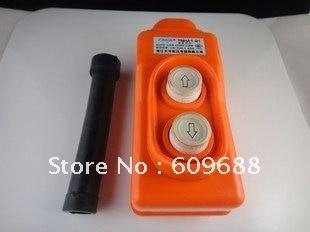 Waterproof hoist push button switch, crane switch,pendant controller