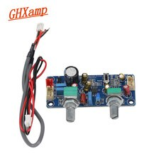 GHXAMP Subwoofer préamplificateur passe-bas panneau de filtre maison voiture Subwoofer haut-parleur préampli utiliser double canal unique puissance 9-32 V