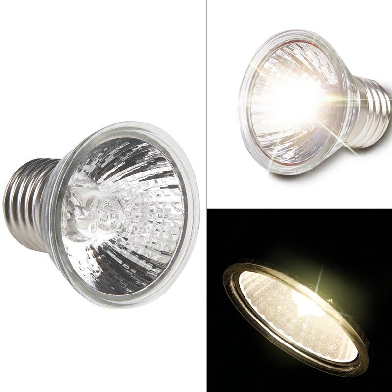 Lanternas lâmpadas de Aquecimento Lâmpada de Espectro Completo Lâmpada Ultravioleta UVA UVB Réptil Tartaruga Frade 25/50/75 w tartaruga Banhos de Sol apr12_27