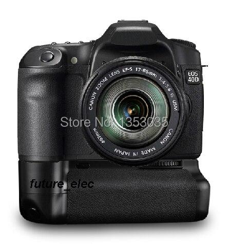 Pro bateria manual Grip 2-Step Vertical Power Shutter para Canon EOS 50D 40D 30D 20D cámara Digital SLR como BG-E2N ajuste BP-511