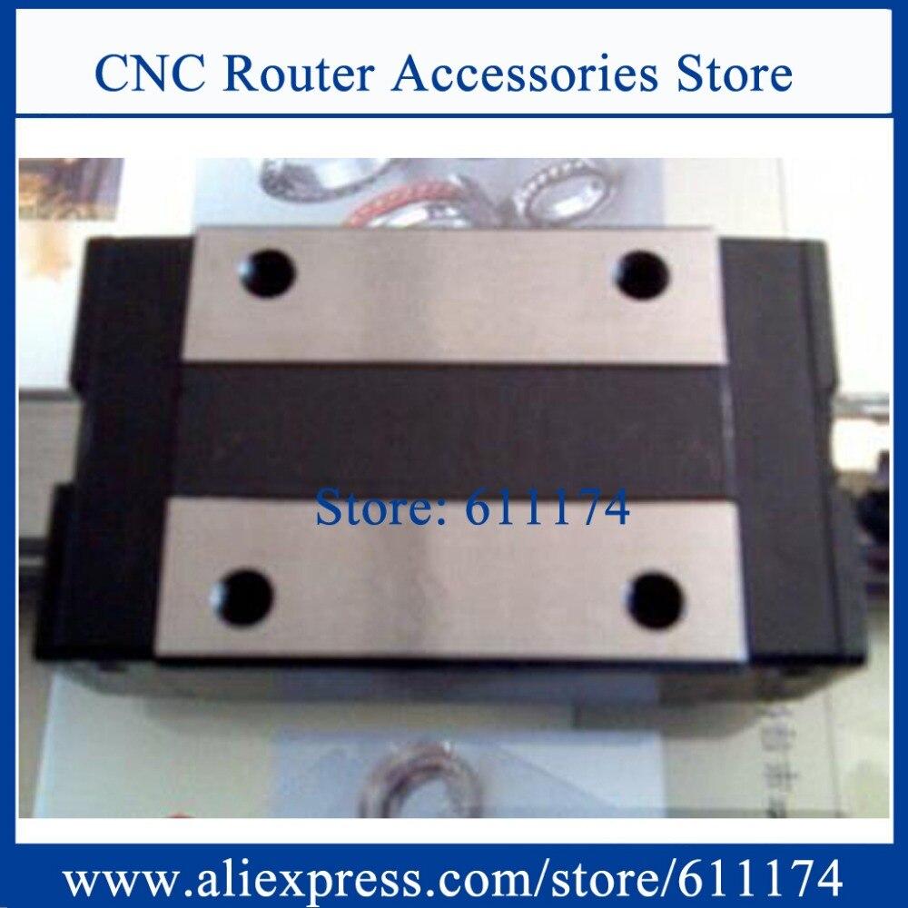Taiwan PMI MSB30S-N Linear guide bearings, slider bearing MSB30SSSFCN, Slider block