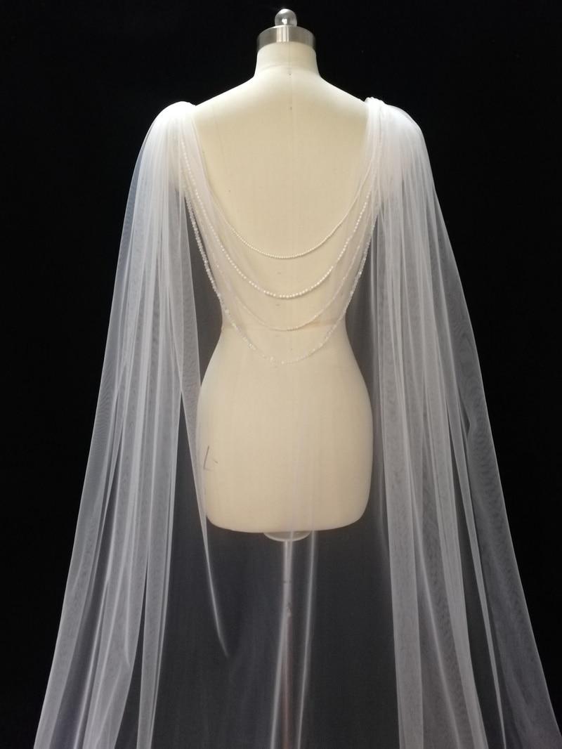 رأس زفاف مع حجاب بوليرو ، عقد زفاف خلفي ، حجاب رأس زفاف ، حجاب حديث ، عقد زفاف خلفي