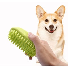 Pet bathing brush comb Dog beauty massage high quality rubber combs Pet Supplies for dog cat
