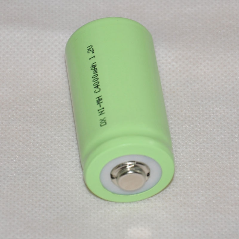 4 stücke 1,2 v wiederaufladbare Ni-Mh nimh batterie 4000 mah Größe C LR14 R14 zelle für taschenlampe und spielzeug uhr