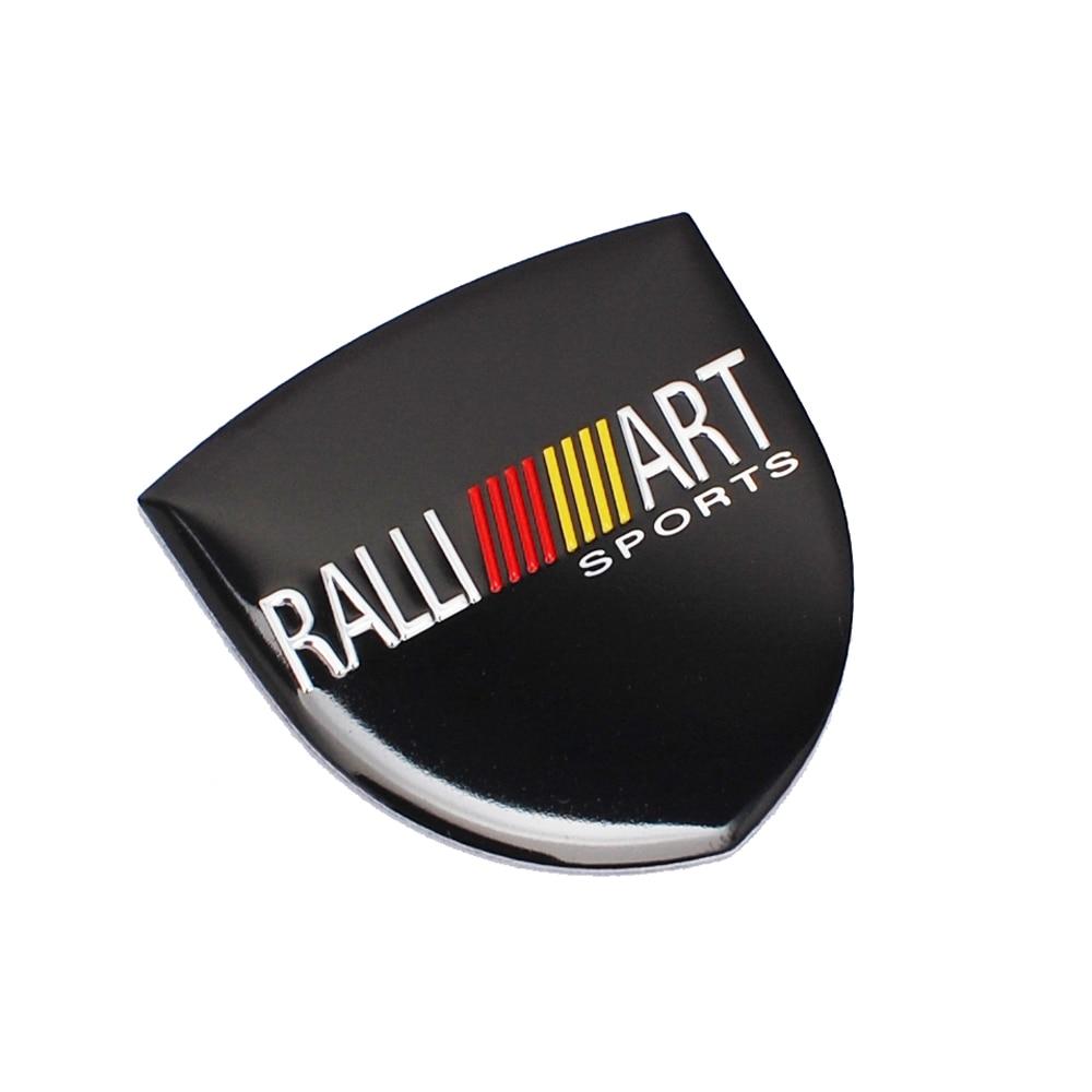 Car Decal Auto Ralliart Sticker For Mitsubishi Lancer Outlander Pajero L200 Galant ASX Montero Side Badge Emblem Car Accessories