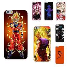 Oedmeb de Goku de Dragon Ball Z encantadora bloque caja del teléfono para LG G2 G3 mini espíritu G4 G5 G6 K4 K7 K8 K10 2017 V10 V20 V30