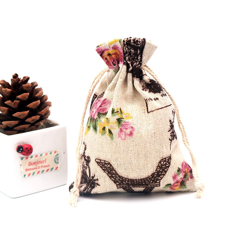 Горячая-продажа-10-шт-черная-башня-Дизайн-Хлопок-Подарочная-сумка-13x18-см-сумка-на-шнурке-льняные-хлопковые-сумки-большой-браслет-упаковка-юв