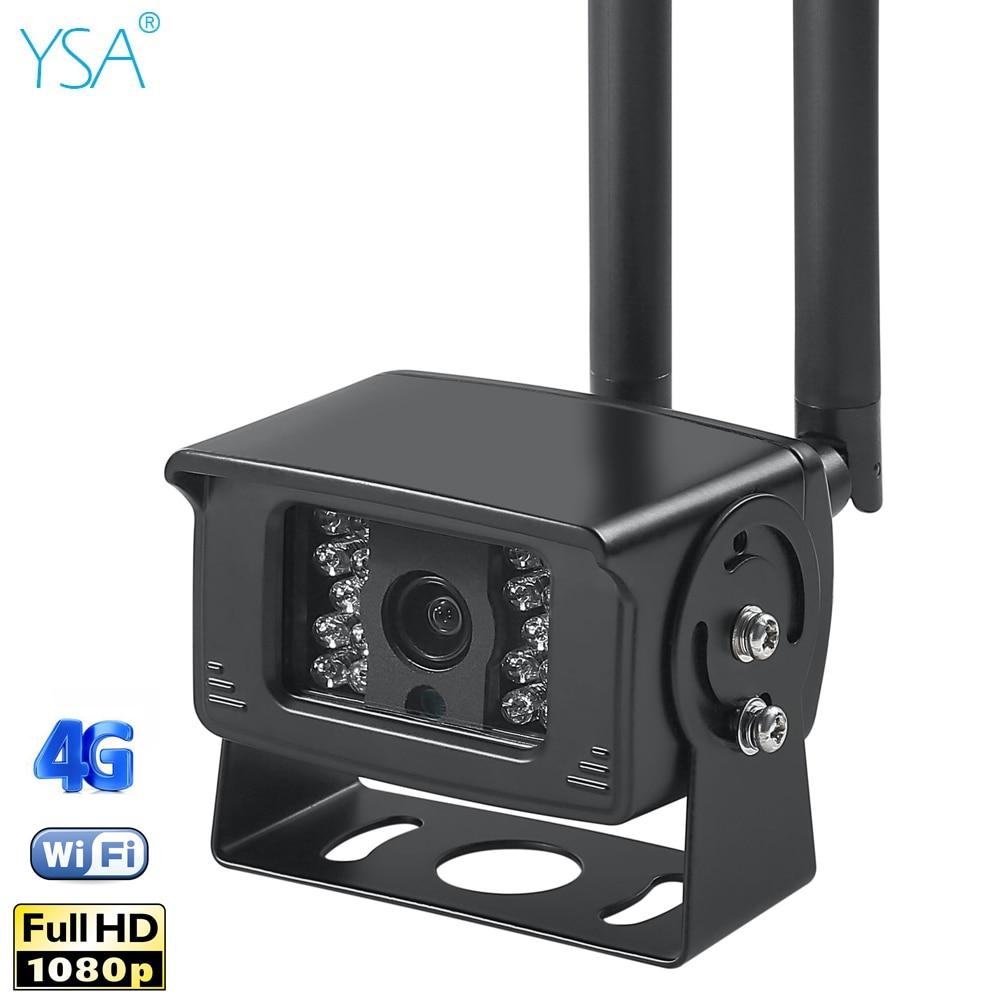 Outdoor 1080P HD Security Camera Wi-Fi Wireless 4G GSM SIM Card Waterproof Car Wifi Camera Night IR CCTV Video Surveillance Cam