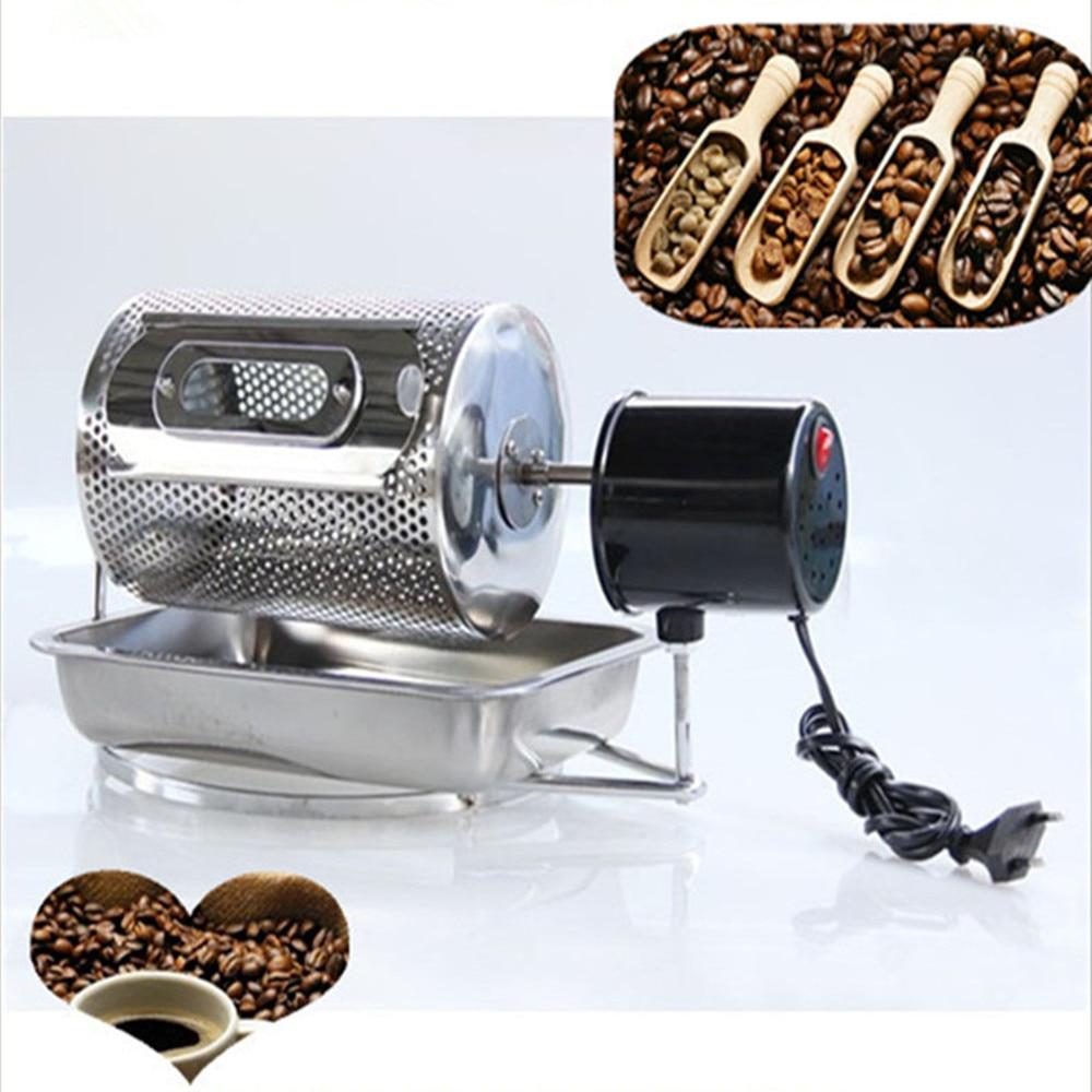 Coffee Roasters Stainless steel Coffee Bean Baking machine Household Coffee Bean Roasters machine Bake Beans  ZF