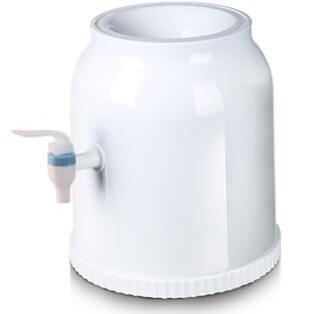 Mini dispensador de agua de escritorio cilíndrico de 25x27cm, sin alimentación para botellas normales, agua de 18,9 L, 10l, 5L, 2,5 L