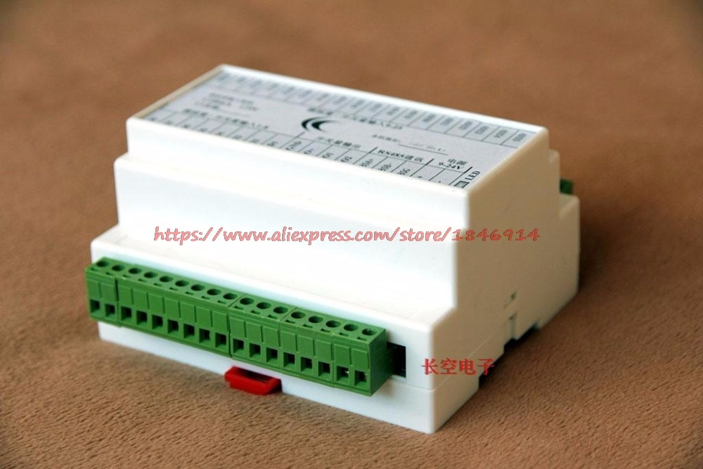 RS485 Collector Card Multi channel 25 ADC, 4-20mA current and voltage analog switching capacity MODBUS