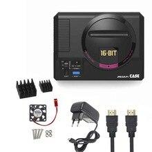 Retroflag MEGAPi Case +fan+heat sink +fan+HDMI cable+5V 3A Power for Raspberry Pi 3 B Plus (3B+) / 3B / 2B