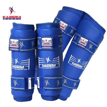 Gran oferta protector de Taekwondo WTF caneleira shin guardia karate mma protector de brazo protector de pierna taekwondo protector alto de boxeo