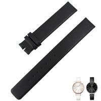 CK leather strap K3E236 K2B231 K3N231 leather belt watch strap