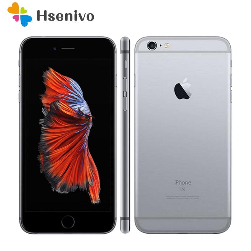 Review Apple iPhone 6S Used (95% New )-Original Unlocked iPhone 6s Plus 4G LTE phone 12.0MP IOS 9 Dual Core 2GB RAM 16/64GB ROM phone