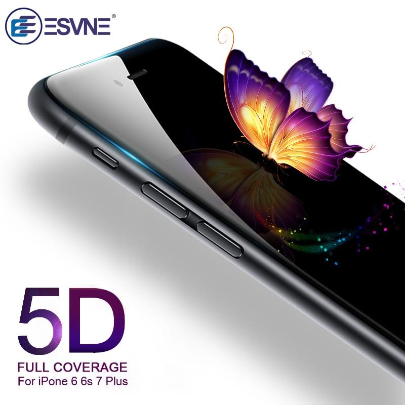 5D закаленное Стекло для айфон 6 стекло Экран крышка пленки протектора защитное стекло на айфон 7 6s 8 plus X XS 11 pro MAX XR
