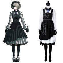 Danganronpa 3 Cosplay disfraz matar Harmony Kirumi Tojo Maid vestido uniforme Cosplay disfraz adulto chica Halloween hecho a medida