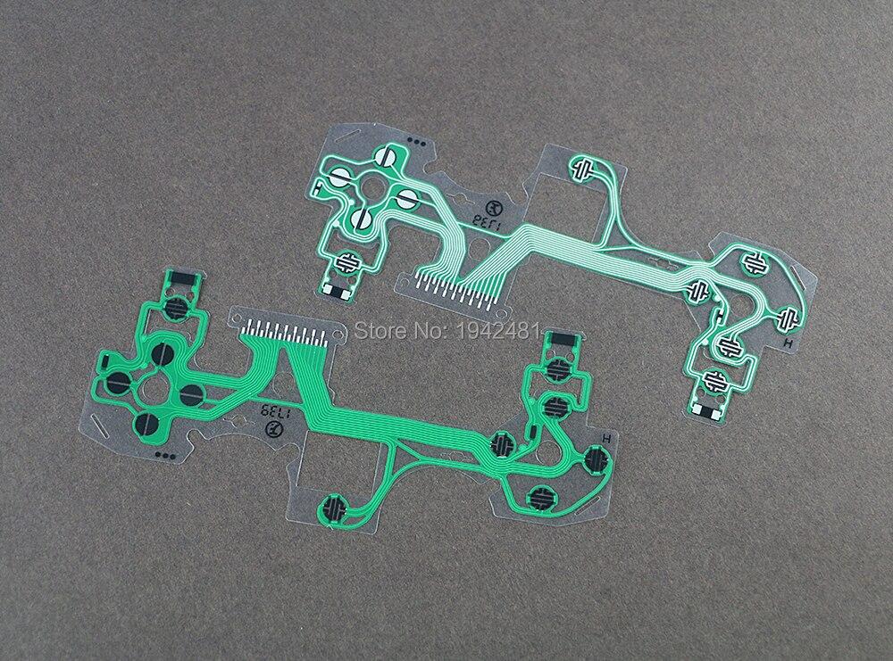 Para PS4 JDS055 cinta tabla circuito película Joystick Cable flexible película conductora para PlayStation 4 Pro JDS-055 5,0 controlador
