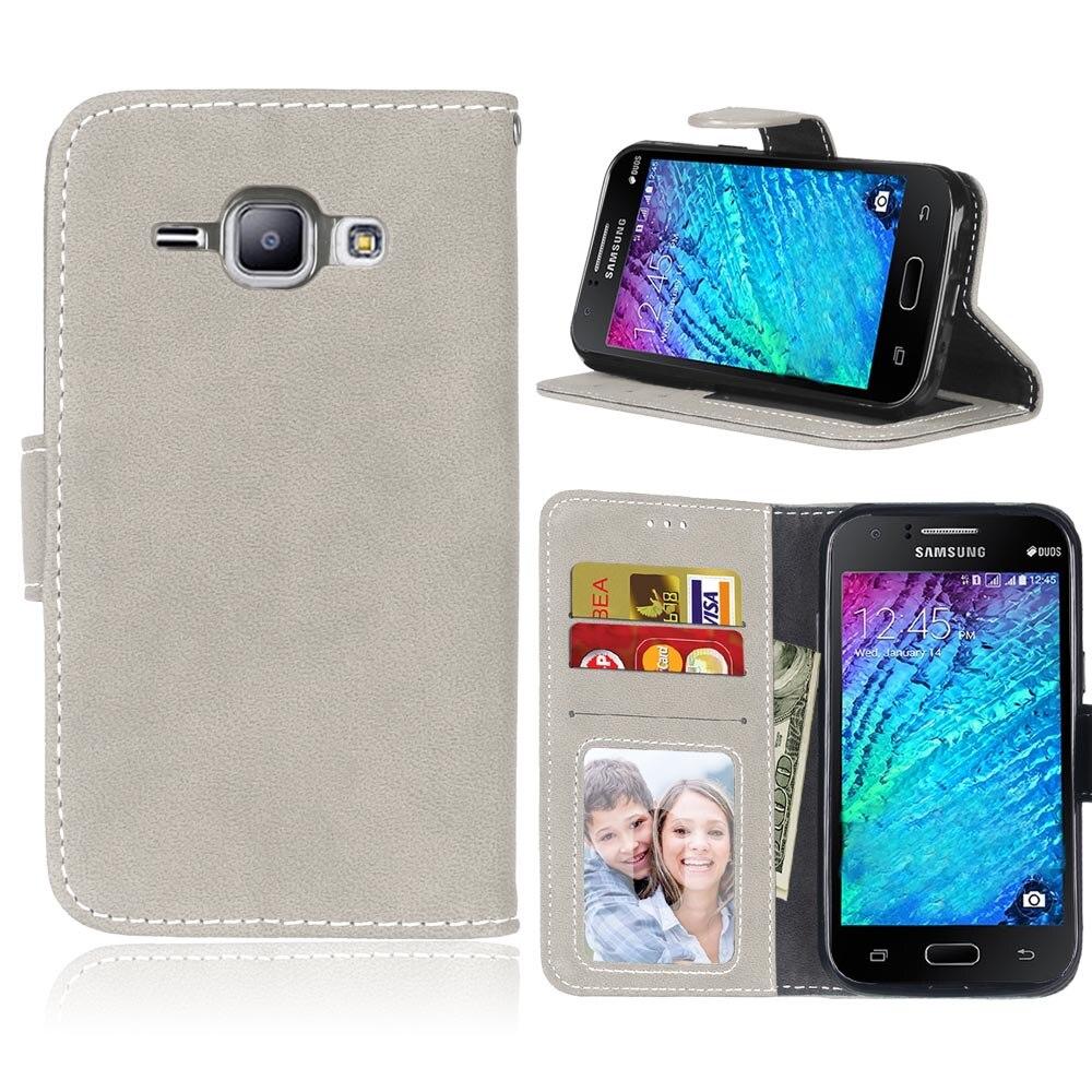 Capinha para samsung galaxy j1 caso de telefone flip capa de couro para samsung galaxy j1 j100 j100f SM-J100f casos carteira capa suporte saco