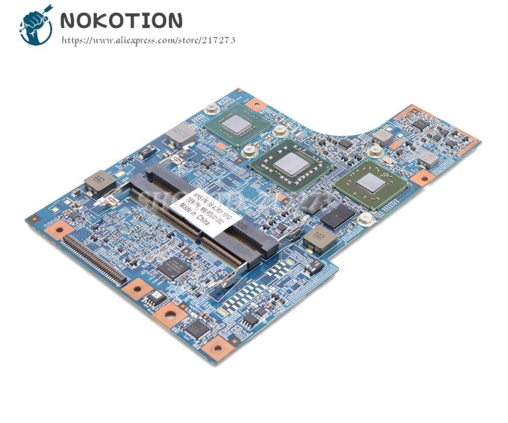 NOKOTION para la placa base del ordenador portátil Acer aspire 4810T 48.4CR05....