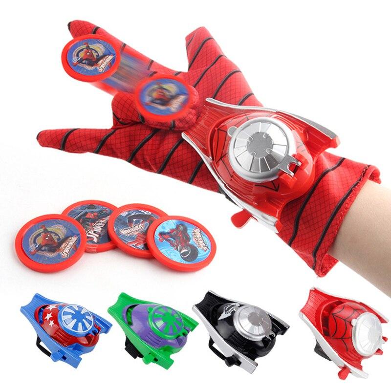 Gota 2019 novo cosplay super heróis luvas laucher um tamanho luva gants adereços presente de natal para o miúdo