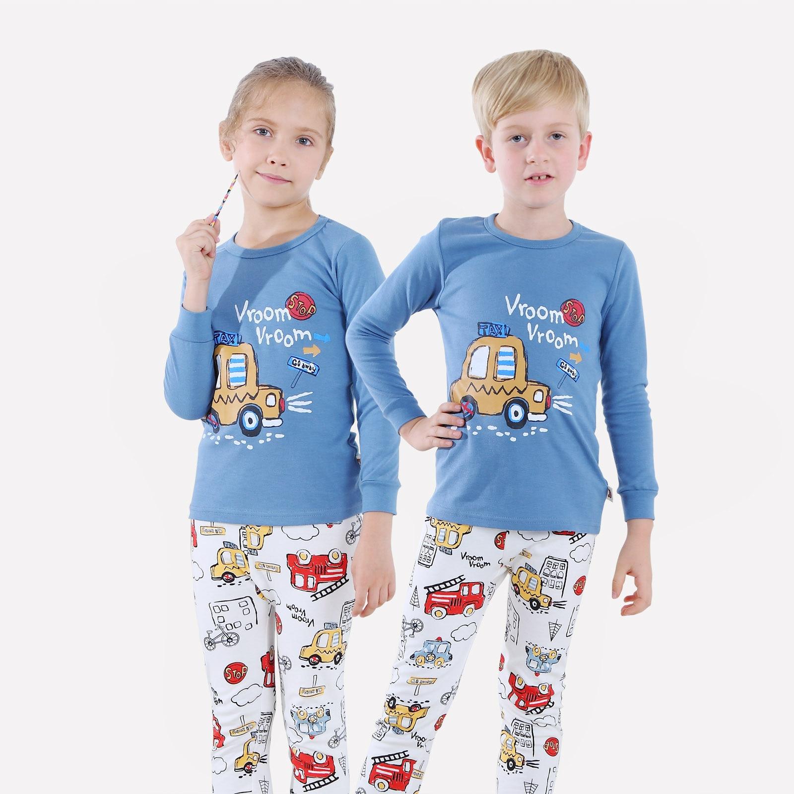 Juego de 2 piezas para bebé recién nacido, niños, bebés, niñas, conjunto de ropa, Camiseta con estampado de coche, conjuntos de pantalón, conjunto de ropa 12M-10Y ropa de niño