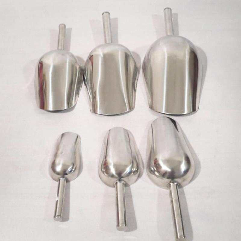 1 pçs 8/9/10/11 polegada barra de gelo colher aço inoxidável alimentos farinha doces colher spice pá barra cozinha ferramenta mayitr