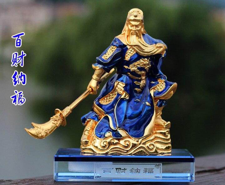 2020 HOME OFFICE  SHOP CAR Efficacious Talisman Protection Money Drawing Martial God of wealth guan gong Guandi FENG SHUI statue