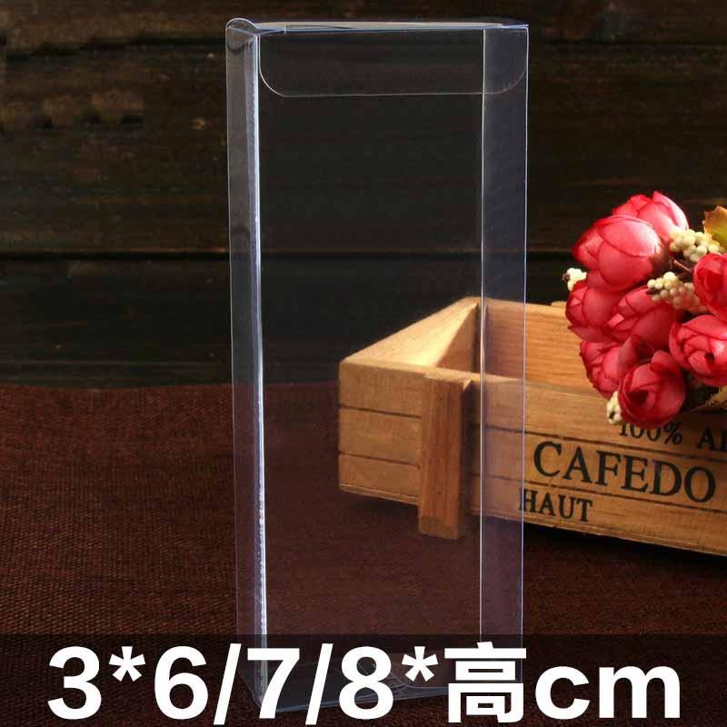 Caja de plástico de exhibición de PVC, caja de regalo para galletas, caja de repostería, cajas transparentes para dulces de boda, embalaje para manualidades DIY, chocolate transparente para pvc
