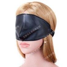 High Grade PU Leather Harness Blindfold BDSM Bondage Cover Nose Eye Mask Slave Retraints Fetish Toys For Adults Sex Games