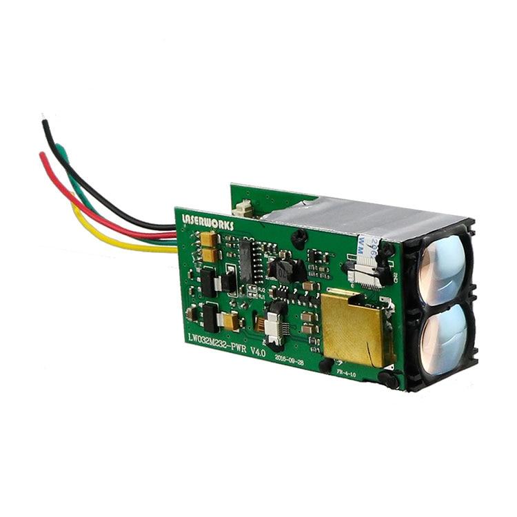 Laserworks 1500 medidor rs232 laser distância sensor lrf módulo tof laser rangefinder para automação industrial