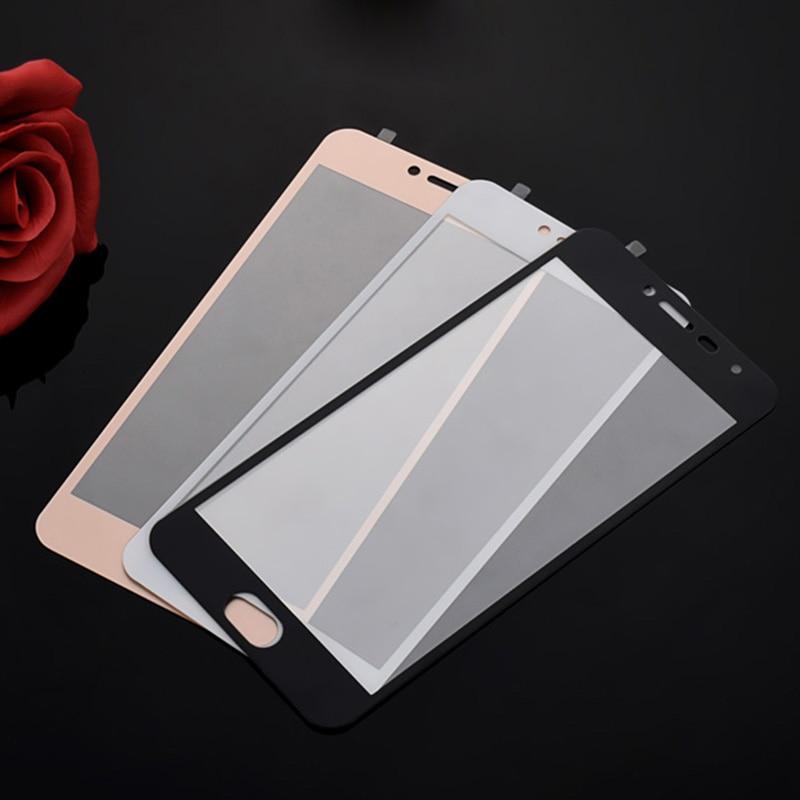 Para meizu m3 mini metal pro7 6 plus m5c mx6 m3 max u10 m5 m3 m6 nota m6t s6 vidro temperado cobertura completa colorido protetor de tela