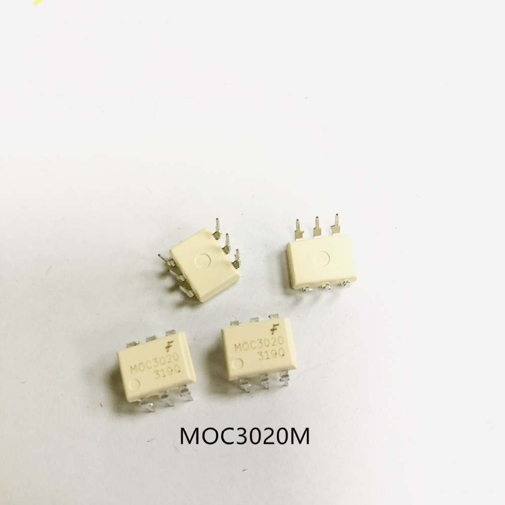10 Uds MOC3020M 3020M MOC3020 DIP6 original IC
