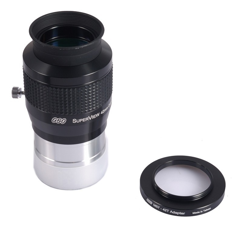 "GSO 2 ""Superview 42 мм широкое поле 68 градусов окуляр включает M57-42T адаптер"