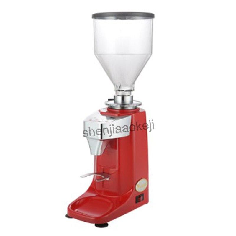 220 فولت التجارية التلقائي اسبريسو القهوة الفول ماكينة الطحن مطحنة كهربائية طحن صانع آلة ل مقهى متجر المنزلية