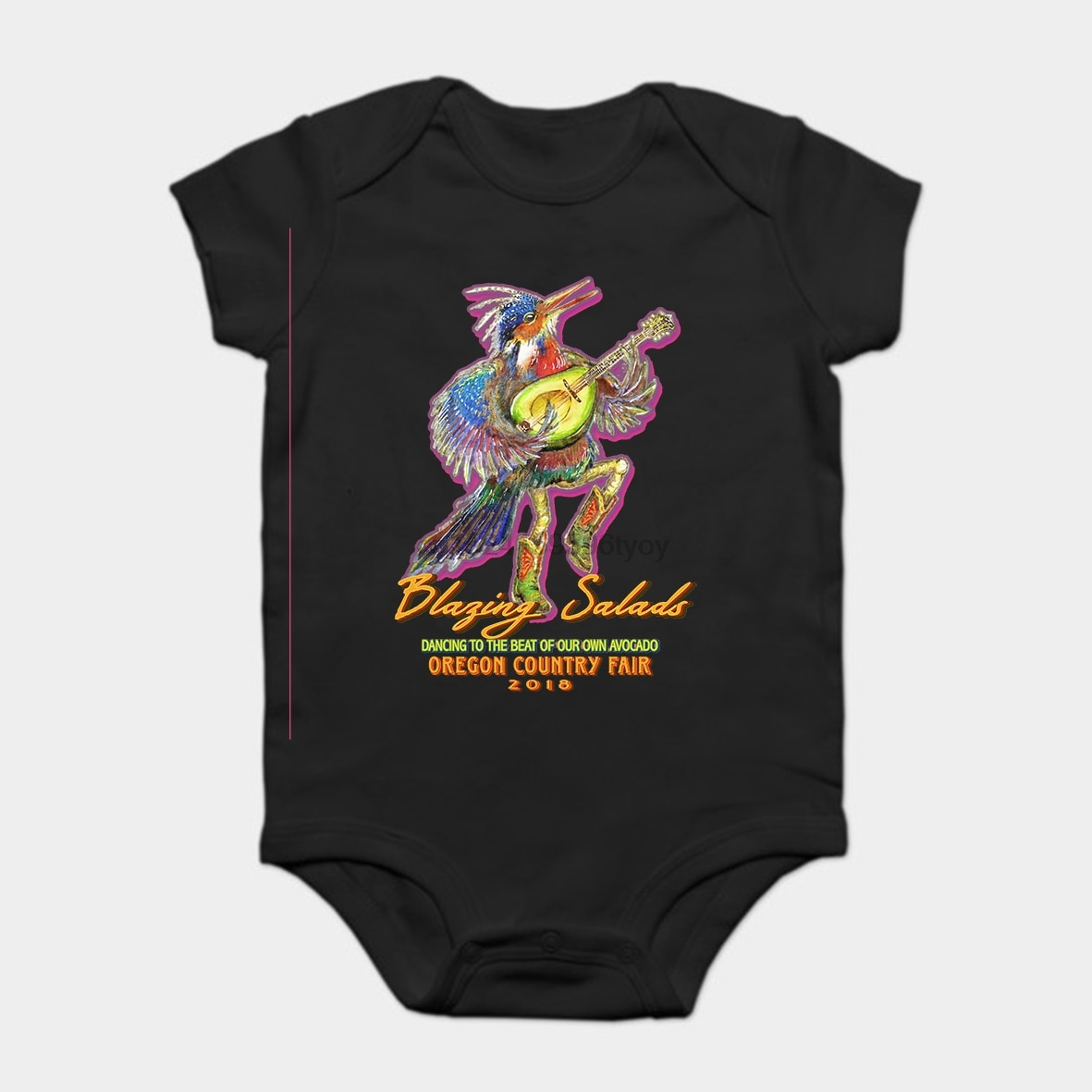Baby Onesie Baby Bodysuits kid t shirt Printed Cotton Short-Sleeve Ocultar los memes monkaS