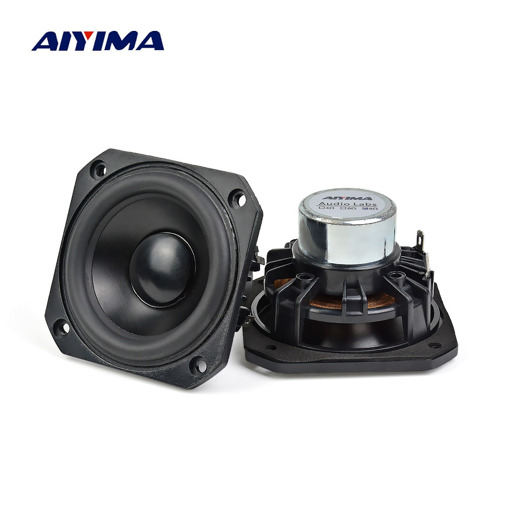 AIYIMA 2 uds 3 pulgadas de Audio portátil de gama completa de...