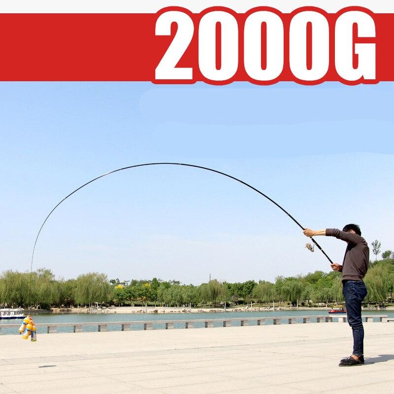 High  Carbon Fiber Rock Fishing Rod Fishing Pole  XH Power Spinning Olta de pesca  Slanted Guide Ring Big Fish Fishing Tackle enlarge