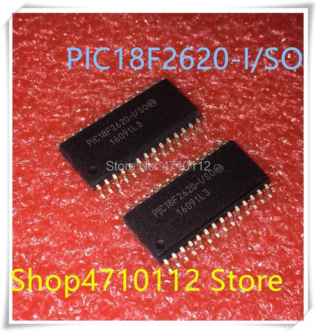 Nuevo 10 unids/lote PIC18F2620-I/así que PIC18F2620 18F2620 SOP-28 IC