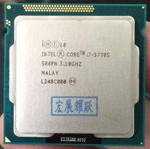 Intel Core i7 3770S cpu Processore i7-3770S 65W LGA 1155 PC Desktop Del Computer Quad-Core CPU