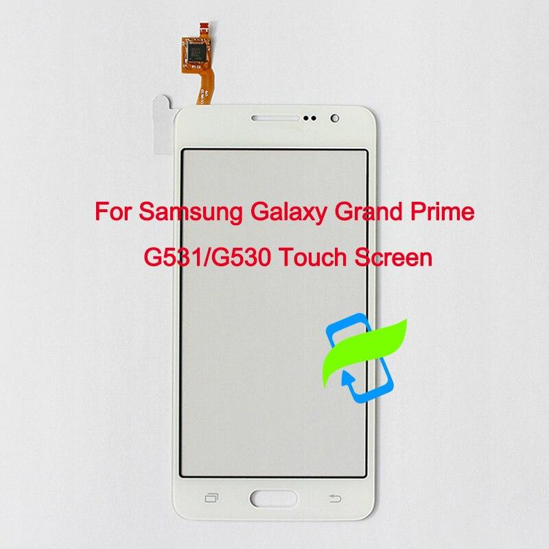 Probado para Samsung Galaxy Grand Prime G531H G531 G531F SM-G531F G530H G530 G530F Panel de Sensor de lente de cristal digitalizador de pantalla táctil