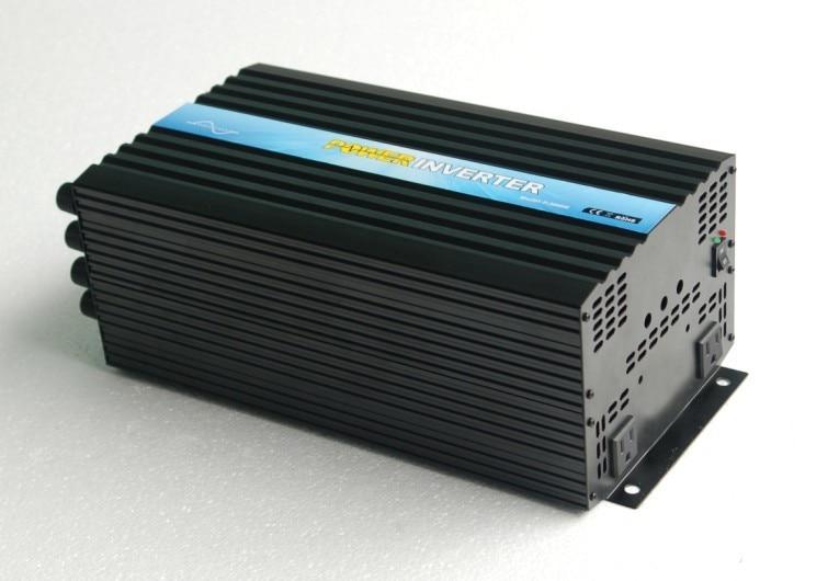 Fabricante chino Venta Directa 3000 w 72 v a 110 v inversor de onda sinusoidal pura, inversor de Panel Solar con enchufes américam