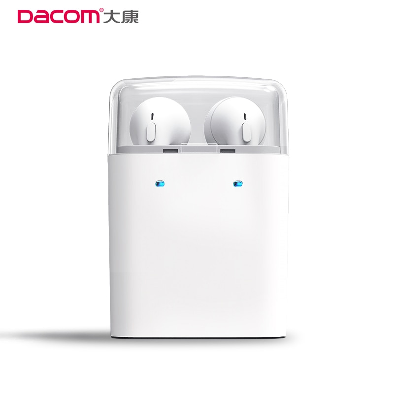 Echtes Dacom 7 s Ohr Knospen Wahre Wireless Bluetooth 4,1 Headset Stereo TWS Kopfhörer Für iPhone 7 Twins Kopfhörer Smartphone ohrhörer
