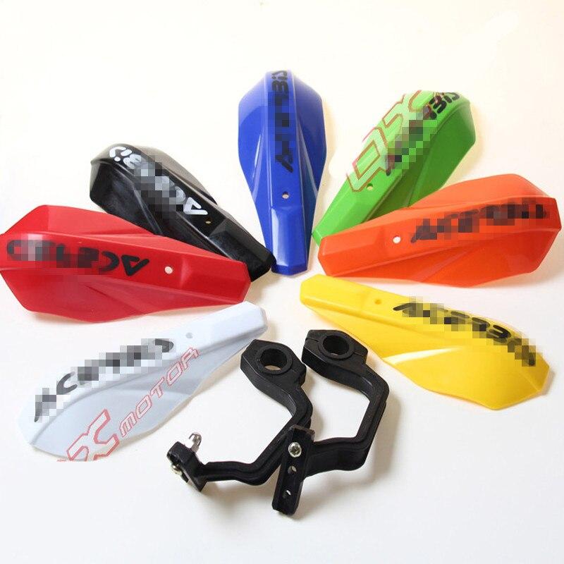 -Motocicletas de carretera playa coche modificado viento de plástico guardamanos de mano guardamanos Hood