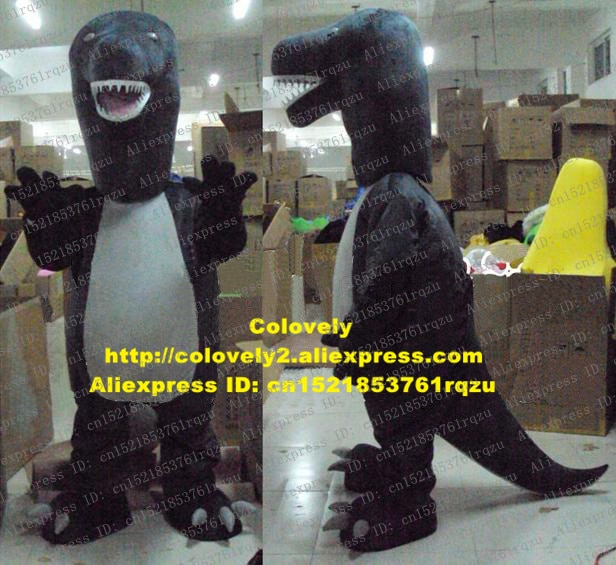 Iguanodon Brontosaurus Rapator Dino Dinosaur Mascot Costume Adult Cartoon Character High Street Mall Family Gifts zz5189