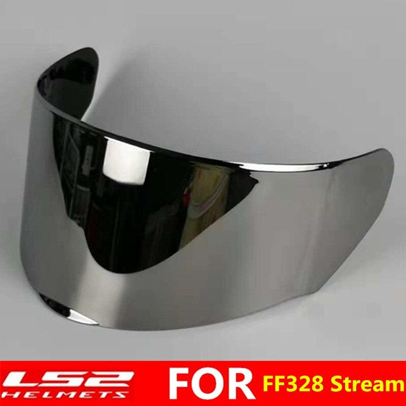 Original LS2 FF328 full face motorcycle helmet visor extra lens transparent rainbow black lens only for LS2 FF328 FF320 FF353