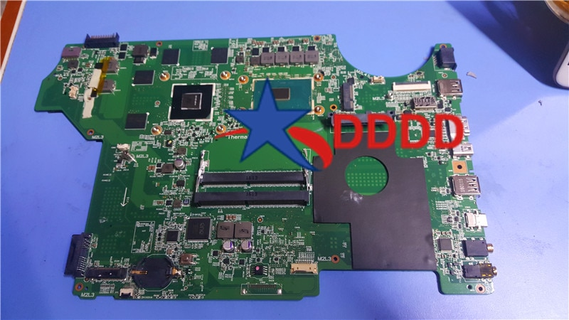Original MS-16J5 MS-16J51 para MSI GE62 GP62 GL62 portátil MOHERBOARD con I7 CPU y GTX960M trabajo 100% perfecto