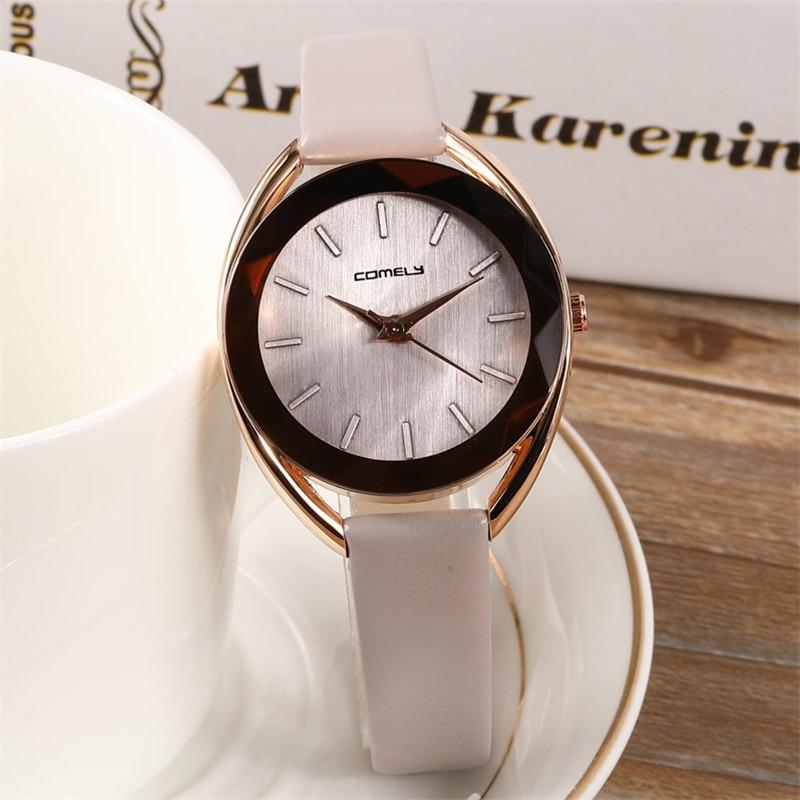 2019 New Design Women Fashion Dress Watches Simple Polygonal Dial Clock Luxury Rose Gold Ladies Bracelet Quartz Wristwatch Clock