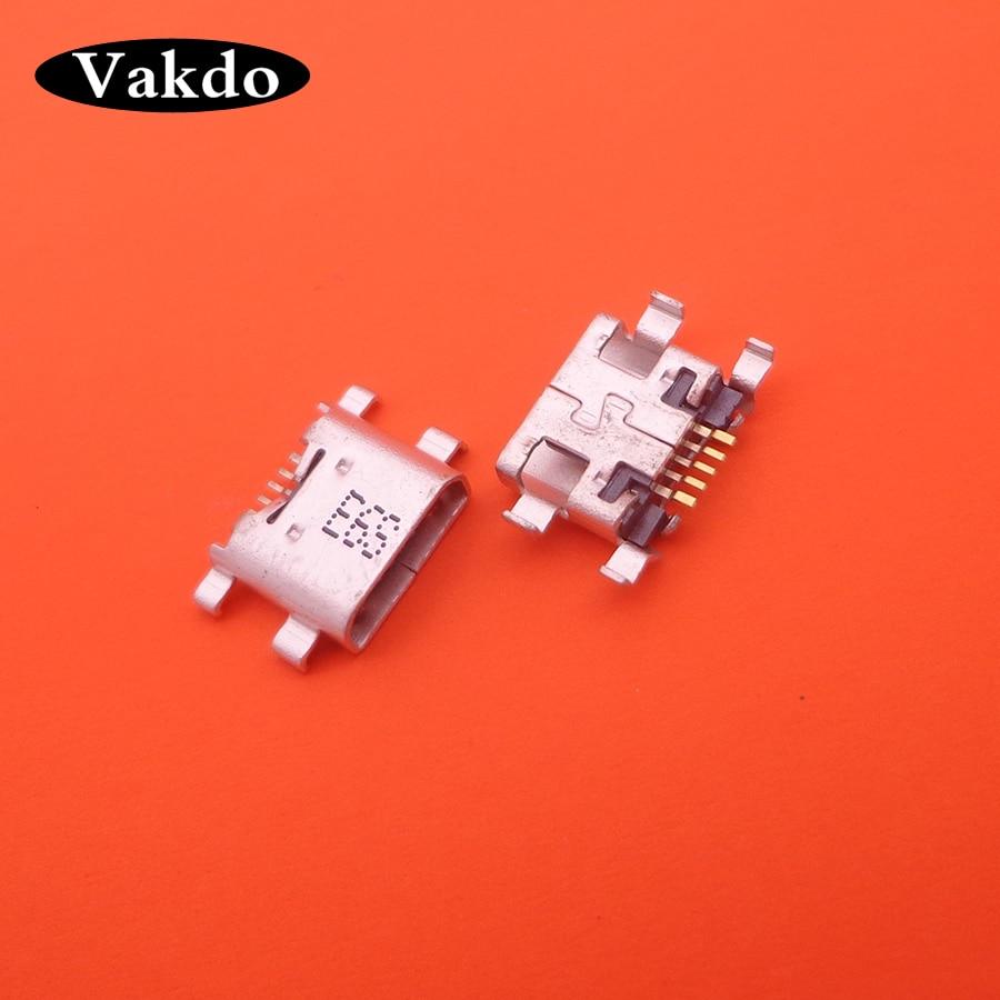 100 Uds puerto de carga Micro USB para Huawei P7 P8 LITE (2017) PLAY 5C MAIMANG 6 Honor 8 Reparación